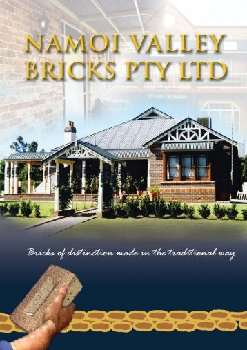 24pp New layout 02.qxd - Namoi Valley Bricks