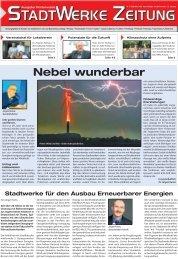 Ausgabe September 2008 (ca. 2,1 MB) - Stadtwerke Finsterwalde