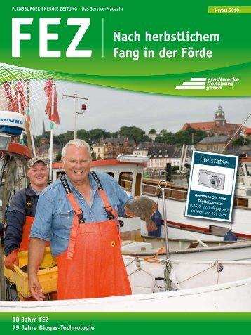 FEZ Nach herbstlichem Fang in der Förde - Stadtwerke Flensburg ...