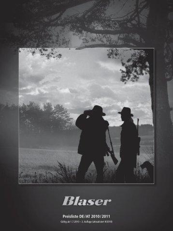 Preisliste DE / AT 2010 / 2011 - Waffen Braun