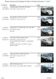 Wilsons Auctions Ltd Catalogue for Sale on Tuesday, December, 11 ...