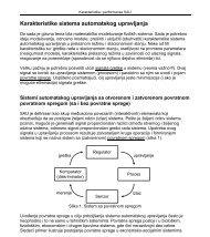 Karakteristike sistema automatskog upravljanja