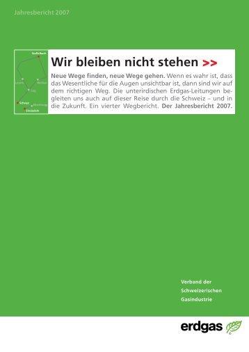 Jahresbericht VSG 2007 - Erdgas