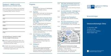 Veranstaltungen - Vonnemann Kloiber & Kollegen
