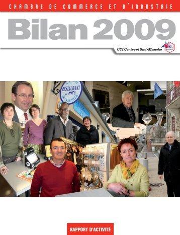 Téléchargez le bilan 2009 (pdf) - (CCI) Centre-Sud Manche