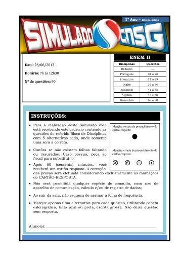 26/06/2013 Enem II - CNSG