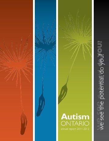 Contents - Autism Ontario