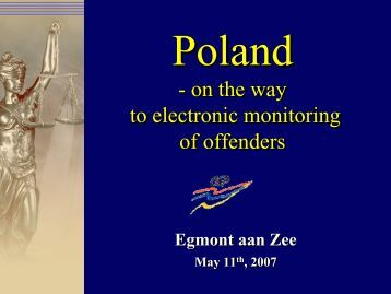 On the way to electronic monitoring of offenders in Poland