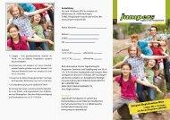 1. März Regio-Seminar für christlich-soziale Jugendprojekte