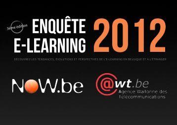 Enquête e-learning 2012 - Awt