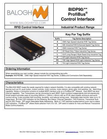 BIDP90/** ProfiBus Control Interface - Anixandra