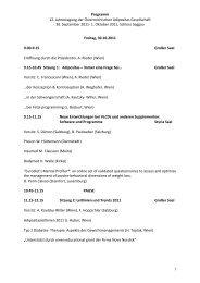 Programm 12. Jahrestagung der Österreichischen Adipositas ...