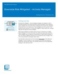 Downside Risk Mitigated – Actively Managed - TIAA-CREF