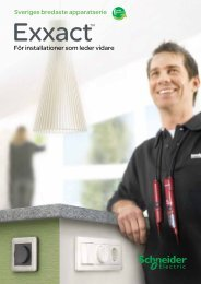 Apparatserien Exxact - Schneider Electric