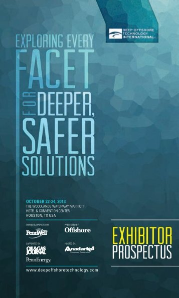 Exhibitor Prospectus (PDF) - Deep Offshore Technology International