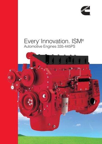 Every™ Innovation. ISMe - Cummins Engines