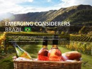 Emerging considerers Brazil - Tourism New Zealand
