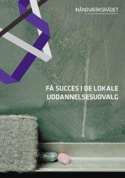 FÃ¥ succes i de lokale uddannelsesudvalg