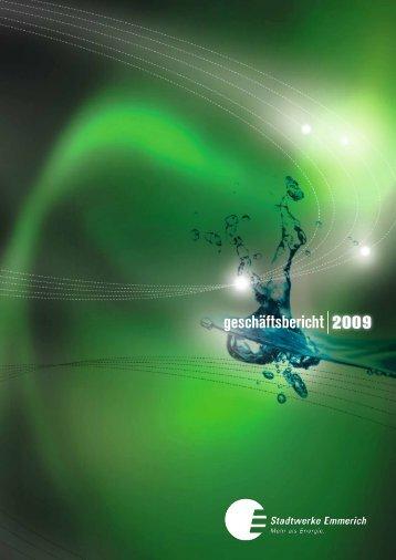 geschäftsbericht 2009 - Stadtwerke Emmerich