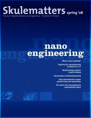 Skulematters Alumni Magazine – Nano Engineering Issue 2008