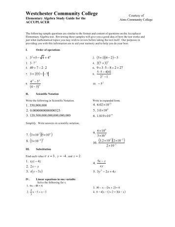 algebra 1 placement exam study guide - grand prairie