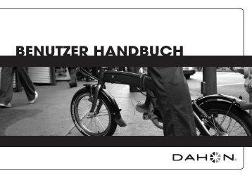 BENUTZER HANDBUCH - Dahon