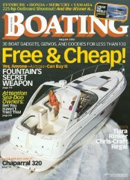 Sure Love ::: Boating - Chaparral Boats Owners Club