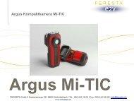 Präsentation der ARGUS Mi-Tic - FERESTA GmbH