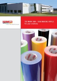 TEC MARK 3000 – SIGN MAKING VINYLS For your creativity