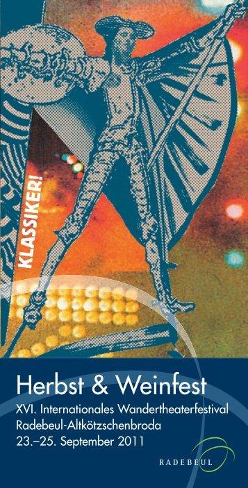 Info_Weinfest_2011 - Herbst- und Weinfest Radebeul