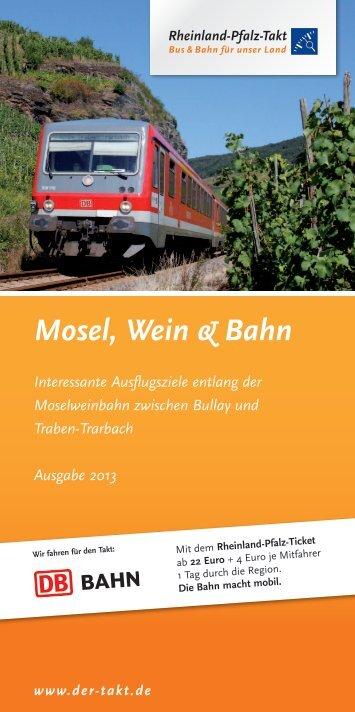Mosel, Wein & Bahn - VRT Verkehrsverbund Region Trier