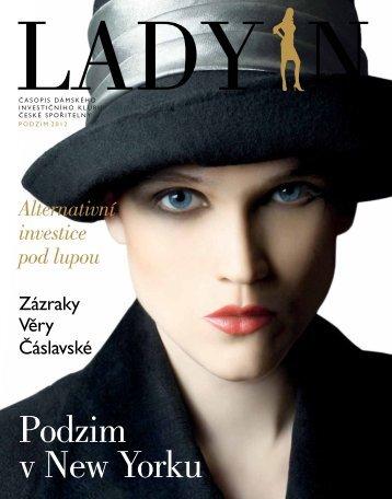 Osmnácté číslo časopisu Dámského investičního klubu LADY IN