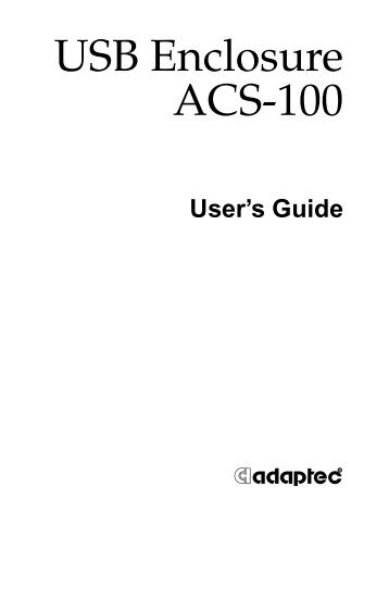 ordering guide ready access enclosure rae400 series Adaptec Tape Adaptec Medical Dressing