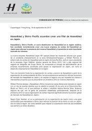 Hasselblad y Shriro Pacific acuerdan crear una filial de Hasselblad ...