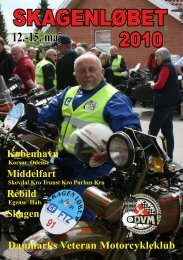 SKAGENLØBET - Danmarks Veteran Motorcykleklub