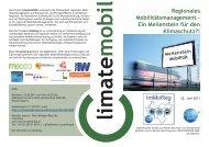 Regionales Mobilitätsmanagement - Ein Meilenstein für ... - RM Austria