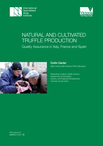 natural and cultivated truffle production - International Specialised ...
