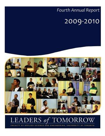 LOT Annual Report 2009-2010 - ILead - University of Toronto