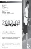 Hobart Squash Brochure - Hobart and William Smith Colleges - Page 2