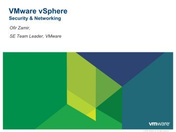 VM Security - VMware Communities