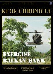 Exercise balkan hawk - ACO - Nato