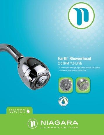 Earth® Showerhead