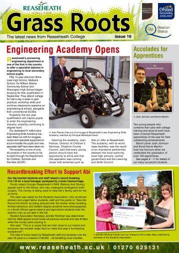 Engineering Academy Opens - Reaseheath College