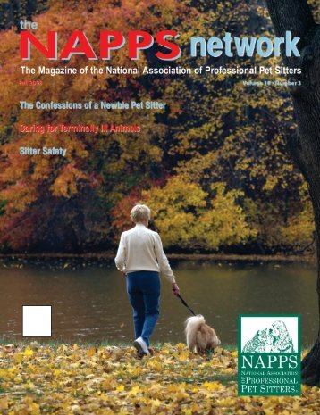 Fall 2008 - National Association of Professional Pet Sitters
