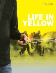 2009 Annual Report - Yellow Pages Group