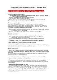 condiciones de la promoción y bases legales - SEAT.es