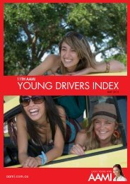 11th AAMI Young Drivers Index
