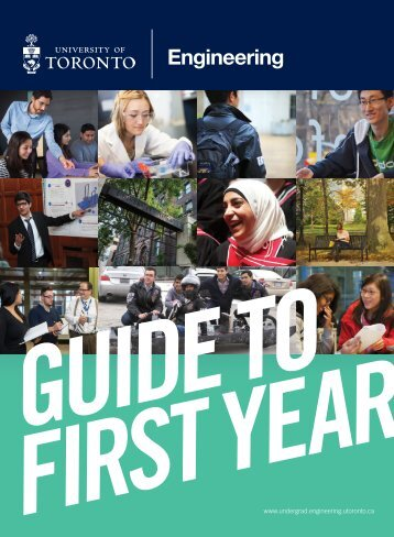 Guide to First Year - Undergrad.engineering.utoronto.ca - University ...
