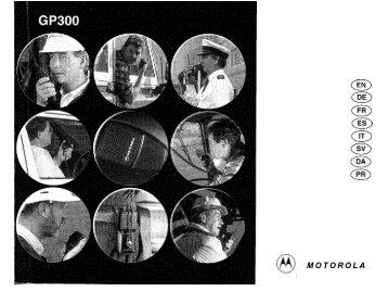 Anleitung Motorola GP300 - Funkgeräte-Vermietung.de