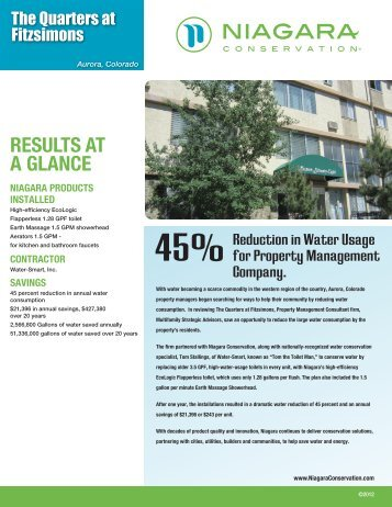 to learn more about this case study - Niagara Conservation